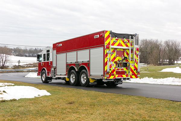 2016 Pierce Enforcer PUC Pumper Tanker - Fire Engine - driver rear