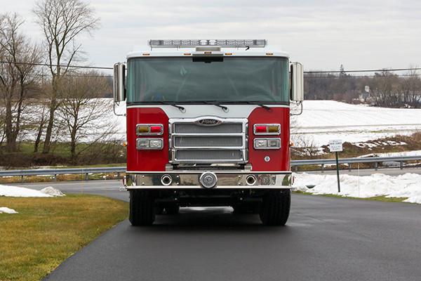 2016 Pierce Enforcer PUC Pumper Tanker - Fire Engine - front