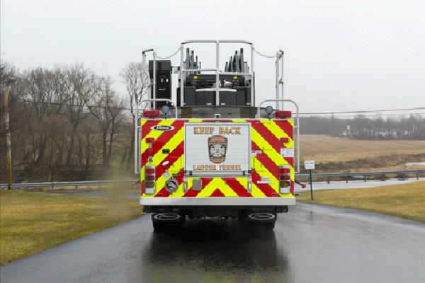 2016 Pierce Velocity Aerial Ladder - Ladder Fire Truck - rear