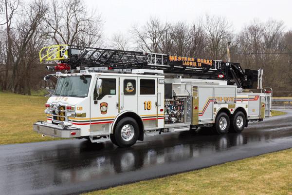 2016 Pierce Velocity Aerial Ladder - Ladder Fire Truck - driver front