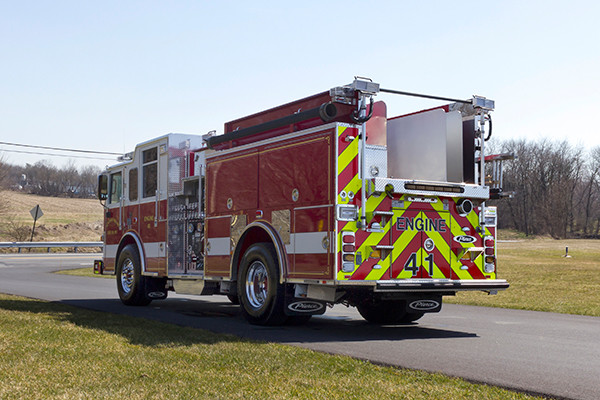 2016 Pierce Arrow XT pumper - fire engine - driver rear