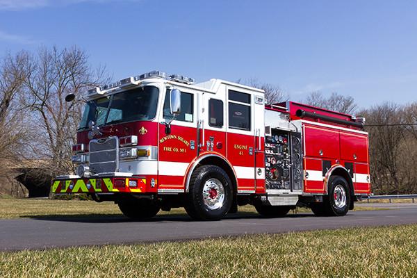 2016 Pierce Arrow XT pumper - fire engine - driver front