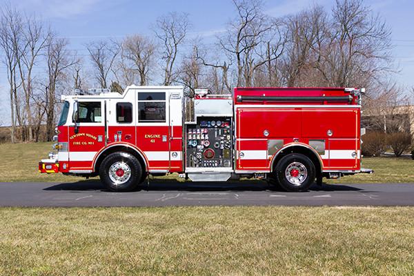 2016 Pierce Arrow XT pumper - fire engine - driver side