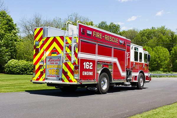 2016 Pierce Enforcer PUC - rescue pumper fire engine - passenger rear