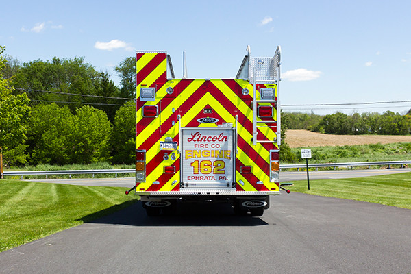 2016 Pierce Enforcer PUC - rescue pumper fire engine - rear