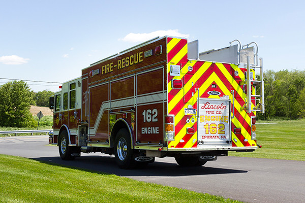 2016 Pierce Enforcer PUC - rescue pumper fire engine - driver rear