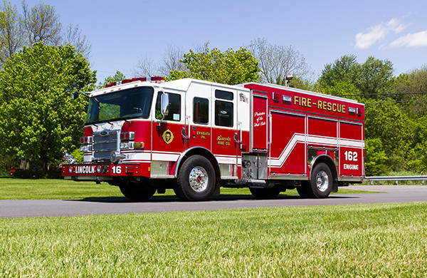 2016 Pierce Enforcer PUC - rescue pumper fire engine - driver front