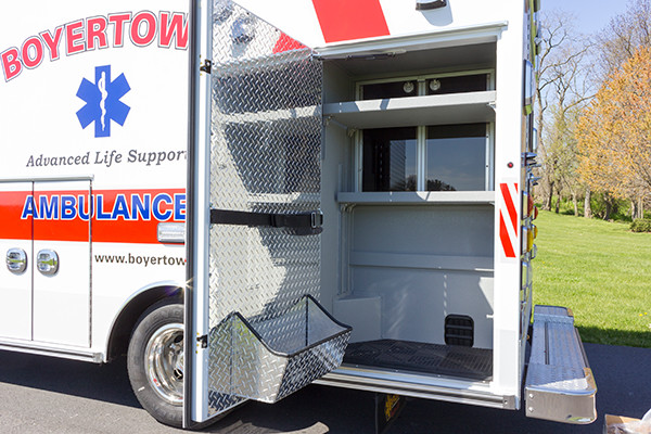 2016 Braun Chief XL type III ambulance - Chevy G4500 - exterior cabinet