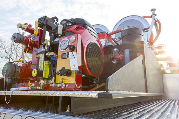 2016 Skid Pumper - Small Skid Pump Unit - passenger rear