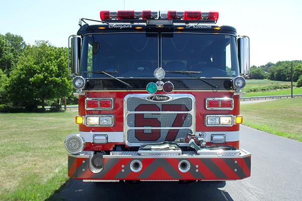 24348 Pierce Arrow XT pumper - Rohrerstown FC - front