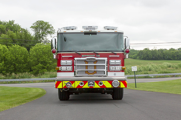 2016 Pierce Enforcer - pumper fire engine - front