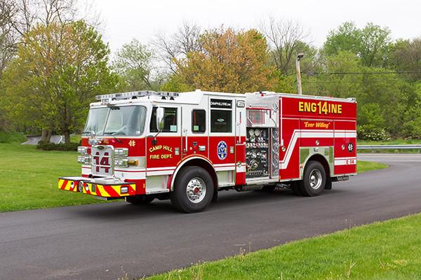2016 Pierce Arrow XT custom pumper - fire engine - driver front