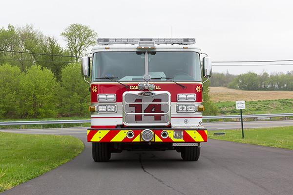 2016 Pierce Arrow XT custom pumper - fire engine - front