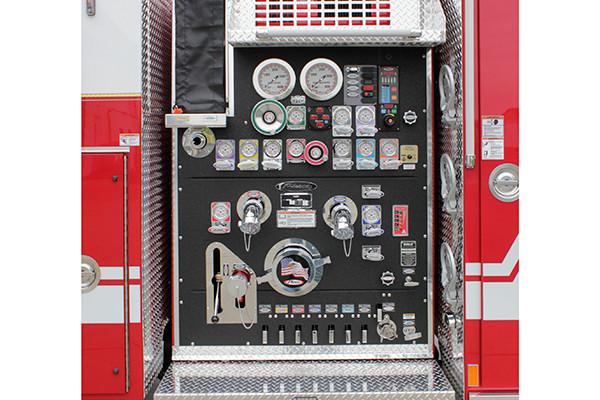 2016 Pierce Arrow XT custom pumper - fire engine - pump panel