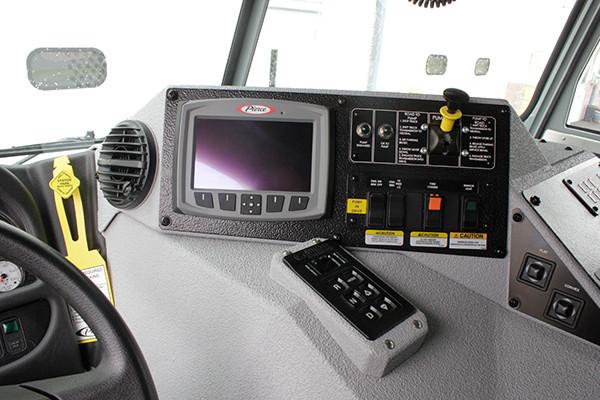2016 Pierce Arrow XT custom pumper - fire engine - command zone control panel