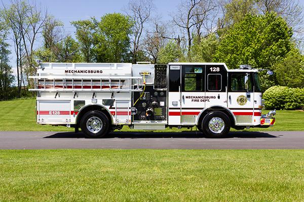 2016 Pierce Enforcer - pumper fire engine - passenger side