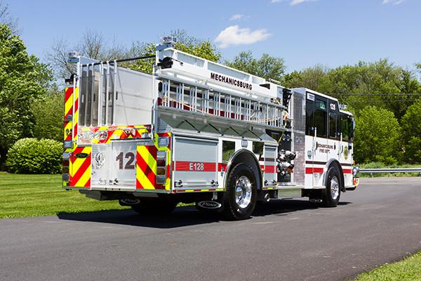 2016 Pierce Enforcer - pumper fire engine - passenger rear