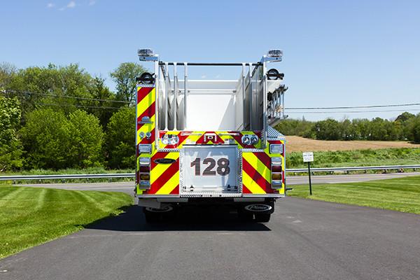 2016 Pierce Enforcer - pumper fire engine - rear
