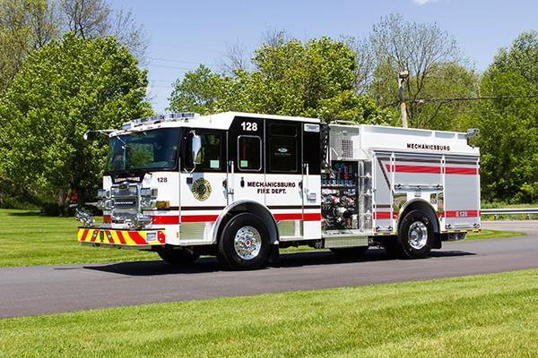 2016 Pierce Enforcer - pumper fire engine - driver front