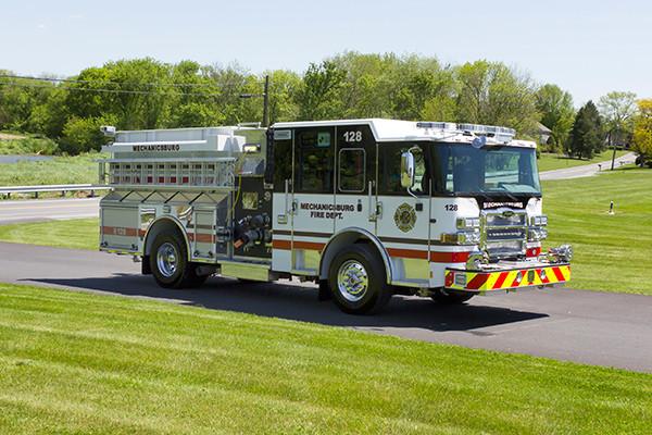 2016 Pierce Enforcer - pumper fire engine - passenger front