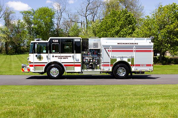 2016 Pierce Enforcer - pumper fire engine - driver side