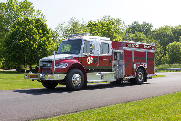 2016 Pierce Freightliner Responder commercial pumper - fire engine apparatus - driver front