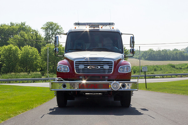 2016 Pierce Freightliner Responder commercial pumper - fire engine apparatus - front