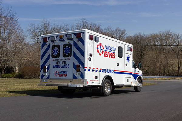 AEV Type III ambulance remount - passenger rear