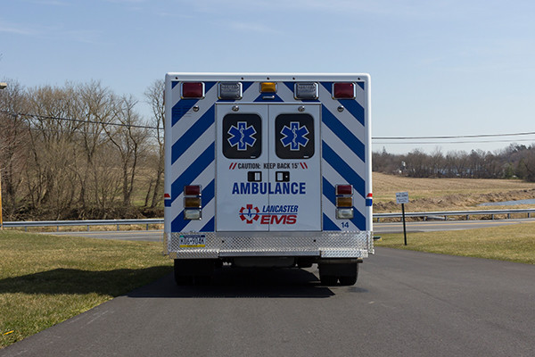 AEV Type III ambulance remount - rear