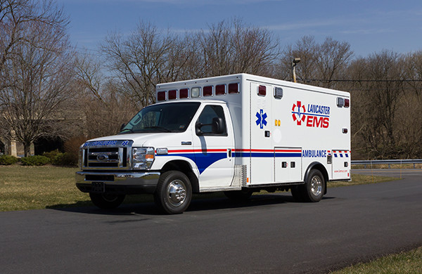 AEV Type III ambulance remount - driver front