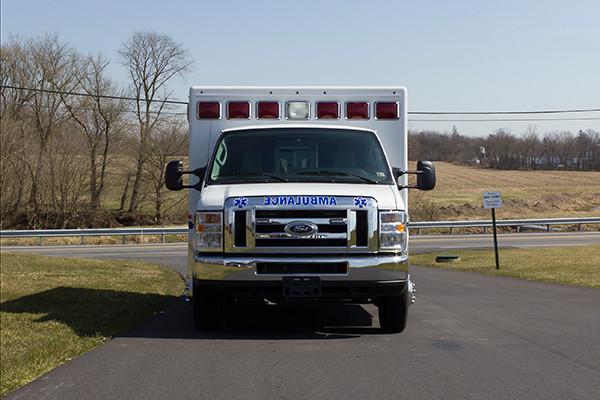 AEV Type III ambulance remount - front