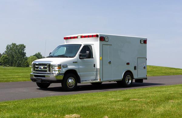 2016 Type I ambulance remount - Braun ambulance - driver front