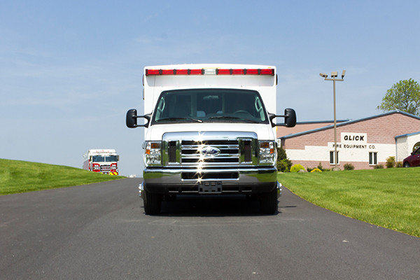 2016 Type I ambulance remount - Braun ambulance - front