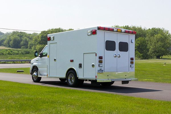 2016 Type I ambulance remount - Braun ambulance - driver rear