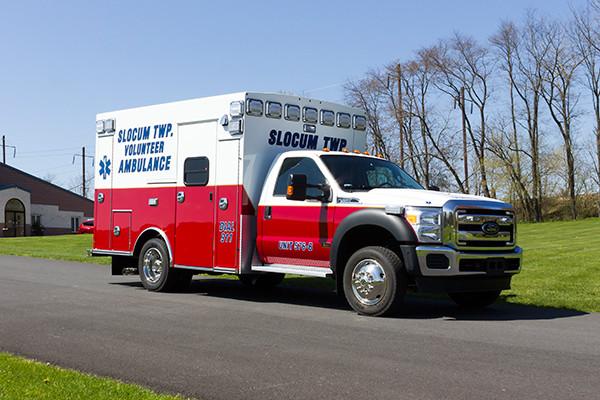 2016 Braun Express Plus Type I ambulance - passenger front