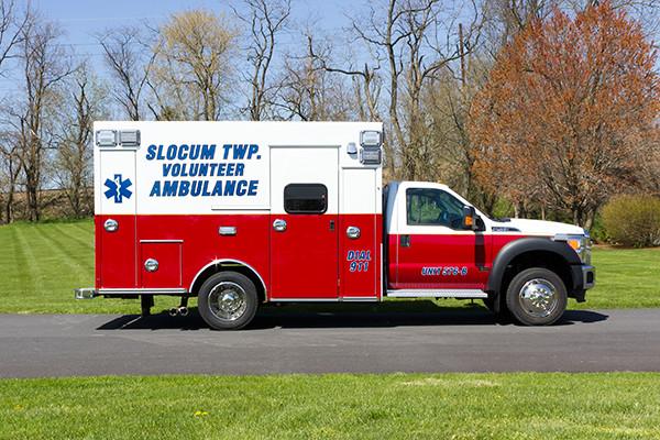 2016 Braun Express Plus Type I ambulance - passenger side
