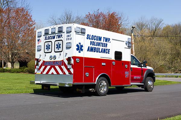 2016 Braun Express Plus Type I ambulance - passenger rear