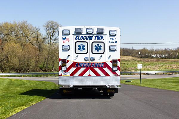 2016 Braun Express Plus Type I ambulance - rear