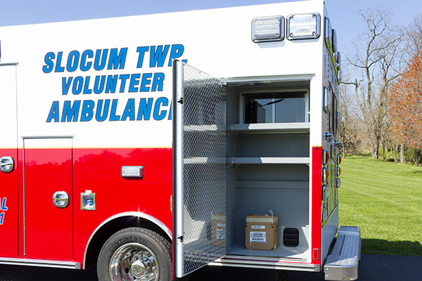 2016 Braun Express Plus Type I ambulance - driver rear compartment