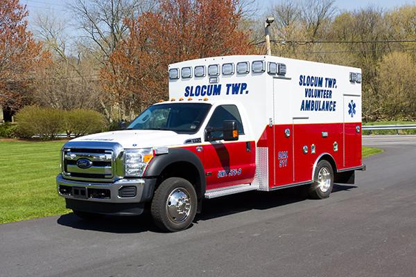 2016 Braun Express Plus Type I ambulance - driver front