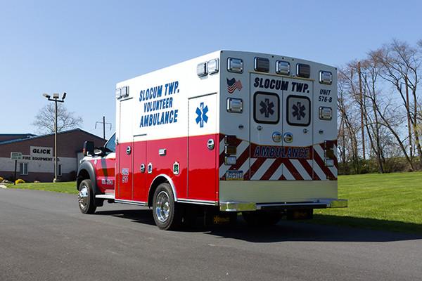 2016 Braun Express Plus Type I ambulance - driver rear