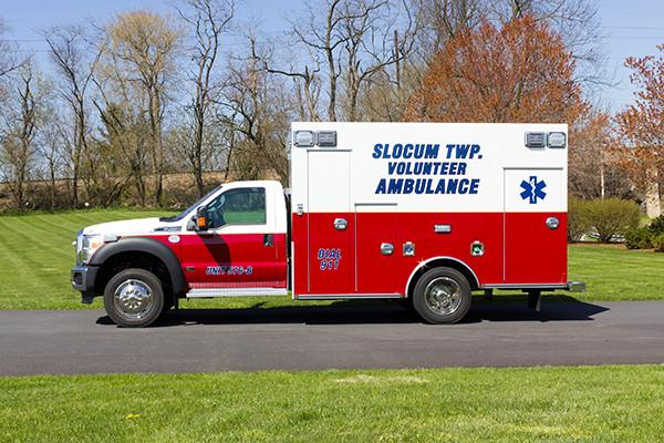 2016 Braun Express Plus Type I ambulance - driver side