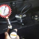 fire apparatus radiator coolant maintenance