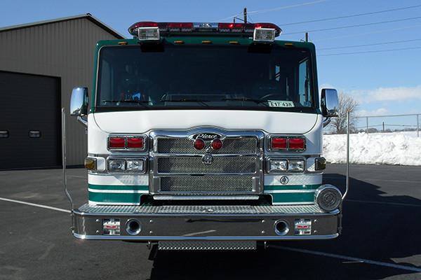 2010 Pierce Velocity - rescue pumper fire truck - front