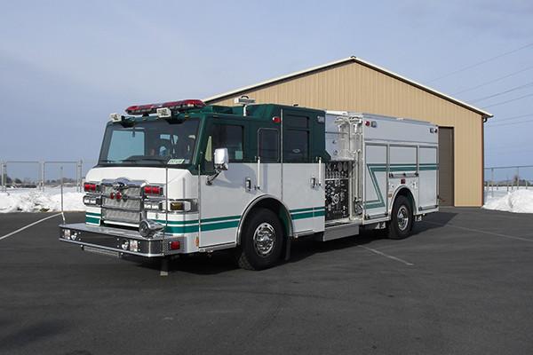 2010 Pierce Velocity - rescue pumper fire truck - driver front