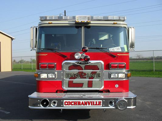 2010 Pierce Arrow XT - PUC rescue pumper - front