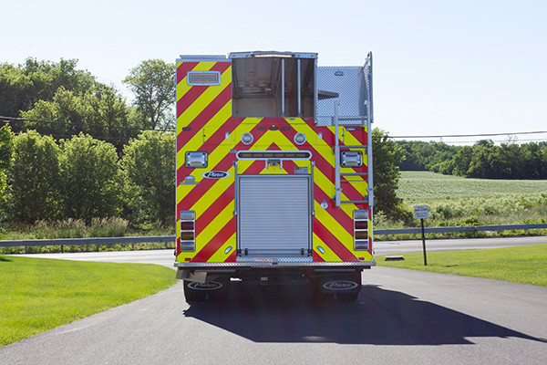 2016 Pierce Impel - PUC rescue pumper - rear