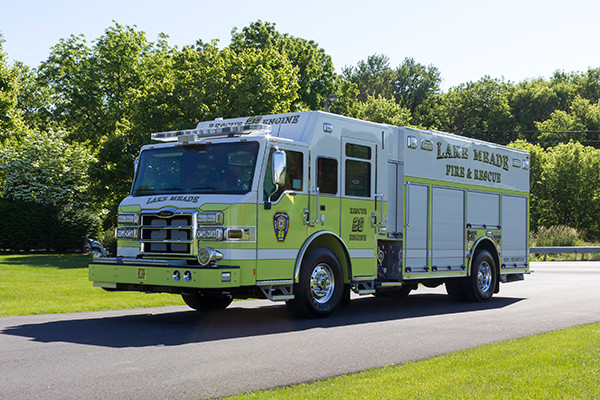 2016 Pierce Impel - PUC rescue pumper - driver front