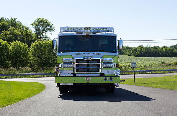 2016 Pierce Impel - PUC rescue pumper - front