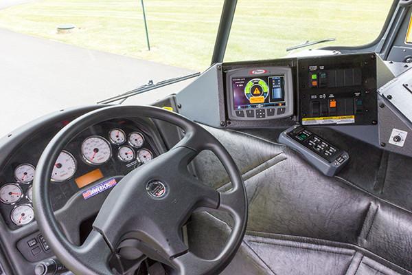 2016 Pierce Arrow XT PUC pumper - rescue engine - driver control panel